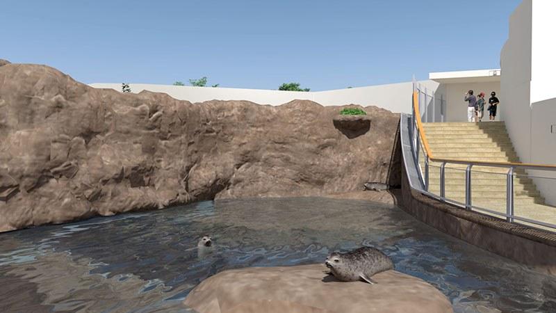 動物園改修計画CGアニメーション