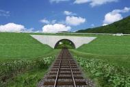 アーチ橋梁CG