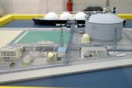 LNG施設模型