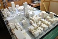駅計画模型
