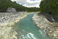 河川改修計画3DViewer