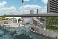 河川水門計画3DViewer