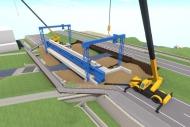道路計画工事ステップ3DViewer